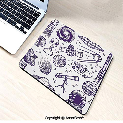Printed Base Mouse pad for Laptop,Computer & PC,Non-Slip Rubber,9.8