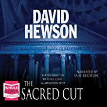 The Sacred Cut: The Rome Series: Book 3 Audiobook by David Hewson Narrated by Saul Reichlin