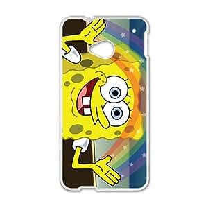 Funny Ponge Bob Squarepants Design Best Seller High Quality Phone Case For HTC M7