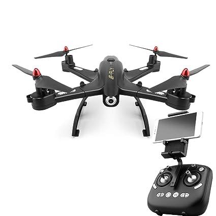 RCDNE Drone con cámara de Gran Angular HD de 1080P a 120 °, RC ...