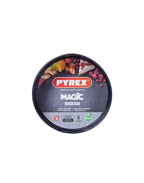Pyrex Magic Molde Para Horno, Negro: Amazon.es: Hogar