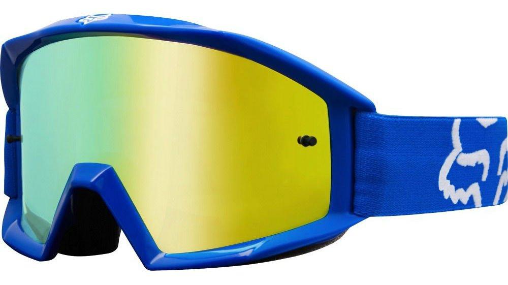 fb643a7a5cd Fox Main Race Goggle - Blue Motocross MotoX Moto Biking Bike Eyewear  Glasses Dirt Jump Riding Ride Eye Sunglasses Sun Protection Anti Fog MTB  Mountain ...