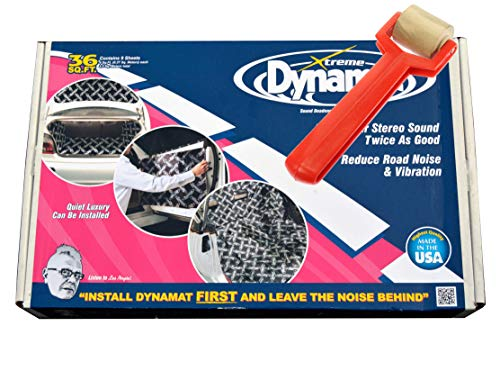 Dynamat Xtreme Bulk Pack Includes Free Roller No Additional Folds 9 Sheets 36FT