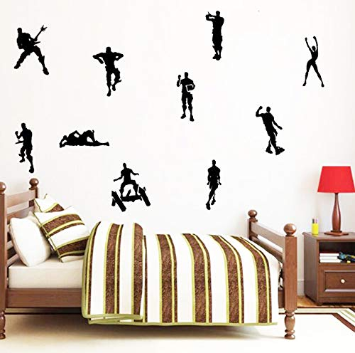 Game Wall Stickers Poster Floss Dancing Wall Decor Peel, Game Stick Poster Decals, Floss Vinyl Wallpaper for Kids Rooms (18.5'' x 16.5'') by Kepom (Image #1)