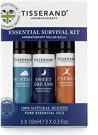 Tisserand Pure Blending Oil, Essential Survival Kit, 0.9 Ounce