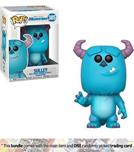Sulley  Funko Pop  Disney X Monster Inc  Vinyl Figure   1 Classic Disney Trading Card Bundle   385   29391