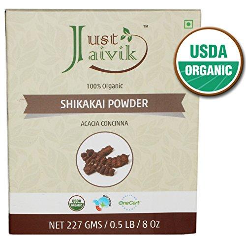 Just Jaivik Organic Shikakai Powder