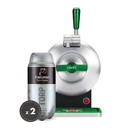Pack Heineken THE SUB | Tirador de cerveza de barril THE SUB Heineken Edition + 2
