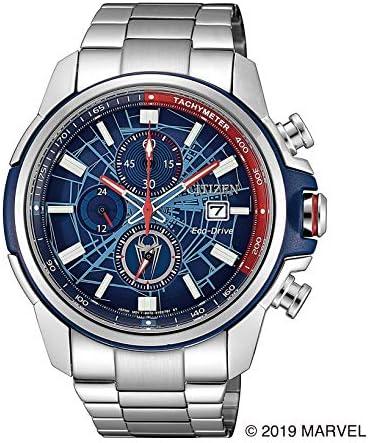 [シチズン] 腕時計 「Spider-Manモデル」 オリジナルBOX付 CA0429-53W メンズ シルバー