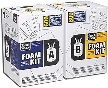 touch foam system spray foam insulation kit