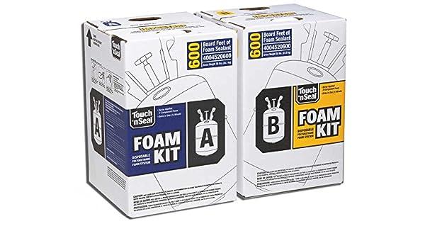 two-component Espuma de poliuretano Kit Tabla de 600 pies: Amazon.es: Bricolaje y herramientas