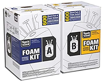 Two component polyurethane foam kit 600 board feet spray foam two component polyurethane foam kit 600 board feet solutioingenieria Choice Image
