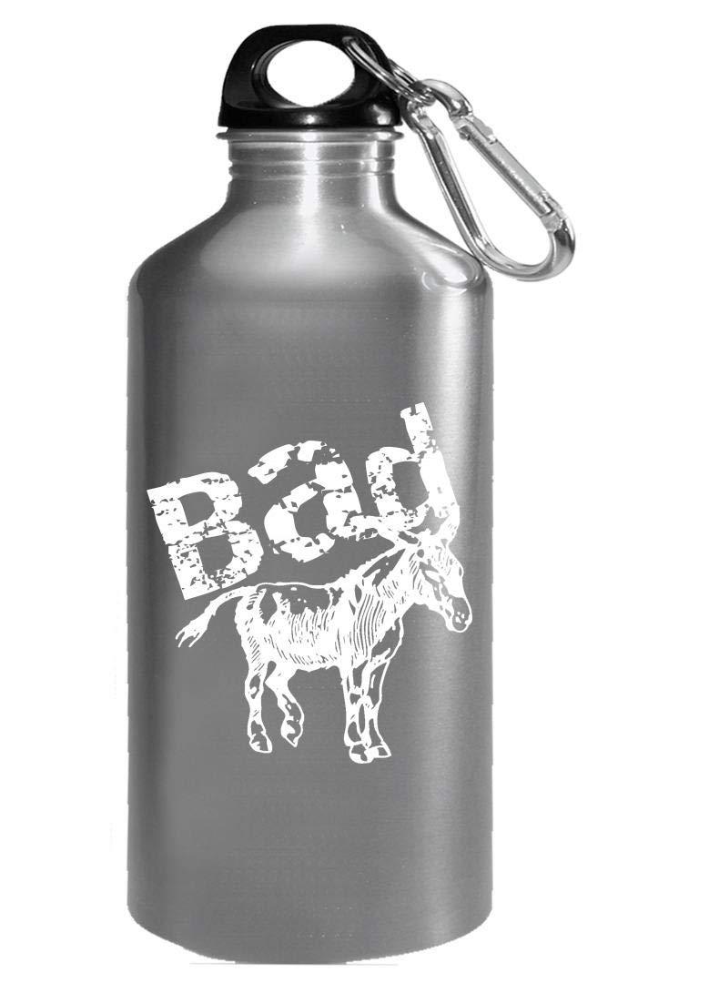 Animal Badass Funny Mule Donkey Pun - Water Bottle