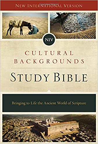 Book NIV, Cultural Backgrounds Study Bible,, Red Letter Edition: Bringing to Life the Ancient World of Scripture