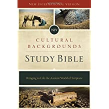 NIV, Cultural Backgrounds Study Bible, Hardcover, Red Letter Edition: Bringing to Life the Ancient World of Scripture