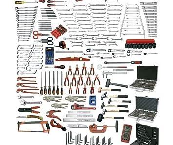 Ega Master - Juego Mecánica 418 Pcs. Con Bandejas Foam (Métrica): Amazon.es: Bricolaje y herramientas