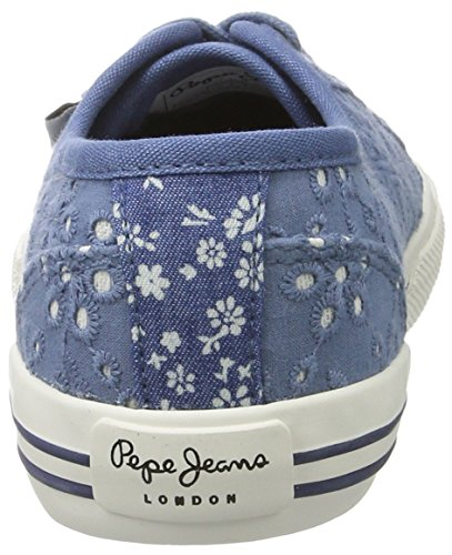 Blu Basse Scarpe Bambina Jeans Blueprint Pepe Tie Dye Baker Ginnastica da qSW0Iw