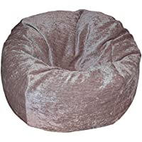 Ahh! Products Chenille Tan Washable Kid Bean Bag Chair