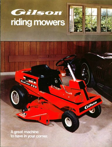 Gilson Mower for sale | Only 3 left at -70%