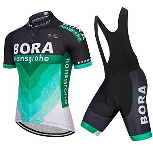 Cycling Jersey Sets 9D BIB Shorts 2-Piece Bike Quick Dry Bicycle Clothing ()