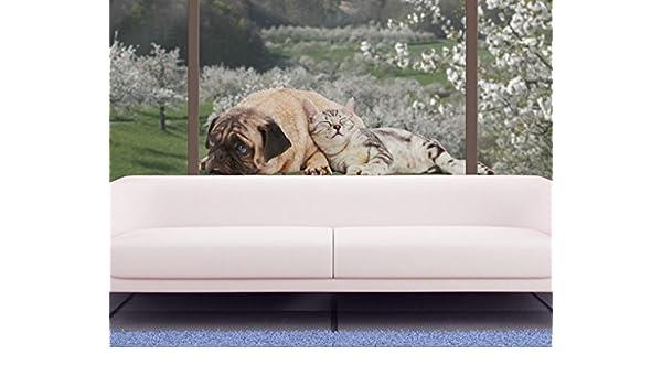 Vinilo de ventana no.511 Best Friends 80x24cm, Größe:24cm x 80cm ...