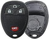2008 silverado key - KeylessOption Just the Case Keyless Entry Remote Key Fob Shell