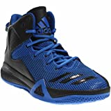 adidas  Men's DT BBall Mid Blue/Core Black/Croyal Athletic Shoe