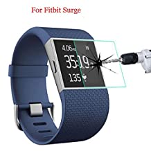 Interesting® 9H Tempered Glass Film Guard for Fitbit Surge,Blaze Smart Watch