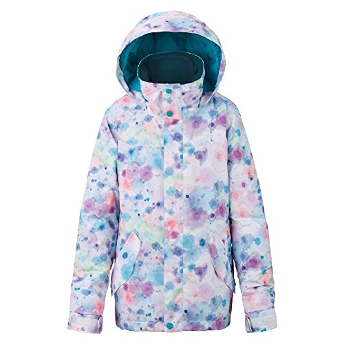 Burton Youth Girls Elodie Jacket, Drip Dye, X-Small by Burton