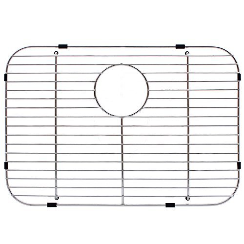 Franke USA FGS75 Stainless Steel Universal Single Bowl Sink Grid with Rear Drain, 13.5 x 19.5 by FrankeUSA