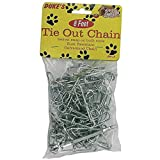 24 Galvanized Tie Out Chains 8'