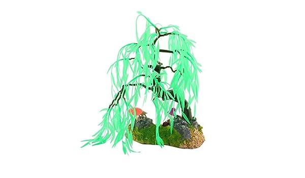 Amazon.com : eDealMax Fish Tank Artificial Emulación decoración acuática acuario Árbol de la planta : Pet Supplies