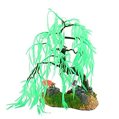 Amazon.com : eDealMax Fish Tank Artificial Emulación decoración acuática acuario Árbol de la planta : Pet Supplies