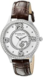 Stuhrling Original Women's 760.01 Symphony Analog Display Quartz Brown Watch