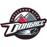 fan products of Donbass Donetsk KHL Russia Hockey Sport Art Decor Vinyl Sticker 5'' X 4''