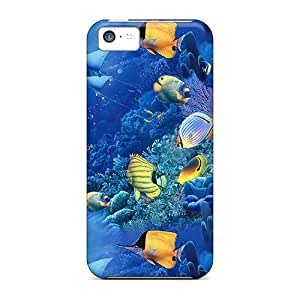 High-quality Durable Protection Case For Iphone 5c(fish Of The Sea)