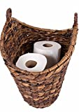 BirdRock Home Free Standing Seagrass Toilet Paper