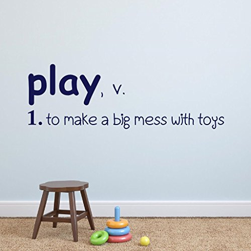 N.SunForest Play Definition Playroom Vinyl Wall Decal Vinyl