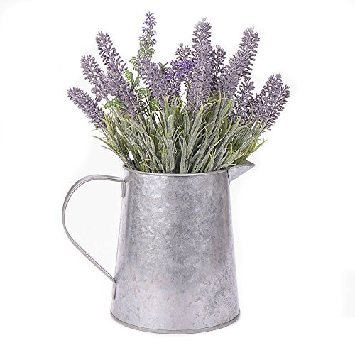 Hot Sale Vintage H147 Metal 0.8Gal Galvanized Watering Can/Planter/Flower Vase by Home by Jackie Inc