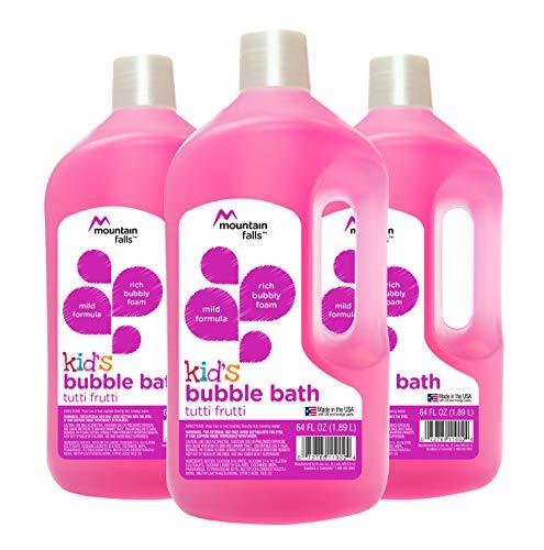 Mountain Fall - Jabón de baño para niños, Tutti Frutti (paquete de 3)