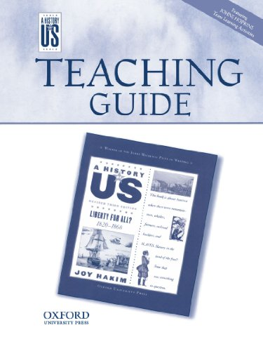 Liberty For All Middle/High School Teaching Guide, A History Of US: Teaching Guide Pairs With A History Of US: Book Five