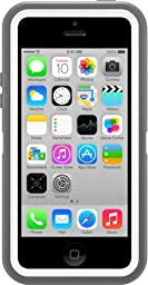 OtterBox Defender Series Case for iPhone 5c - Gray/White