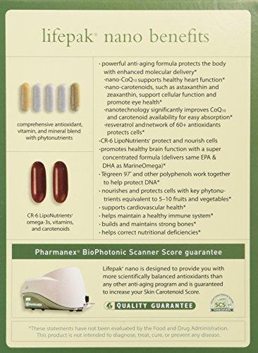 51ExTYklnEL - Pharmanex LifePak Nano anti-aging dietary supplement - 60 packets