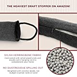 DECOREALM Heavy Duty Door Draft Stopper and