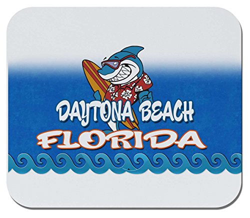 Makoroni - Daytona Beach, Florida - Non-Slip Rubber Mousepad, Gaming Office Mousepad