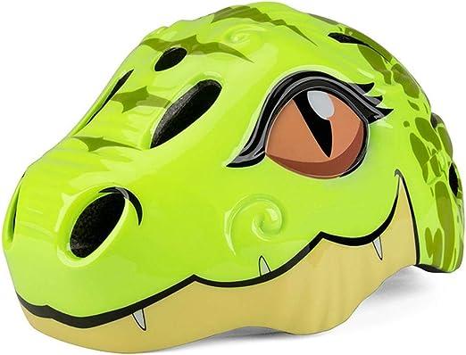 lingzhuo-shop Casco de Bicicleta Infantil Protección Patinaje ...