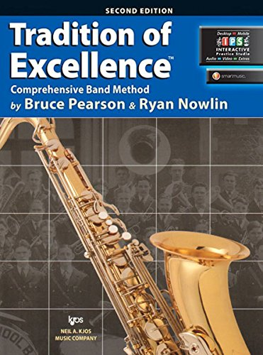 W62XB - Tradition of Excellence Book 2 - Bb Tenor Saxophone