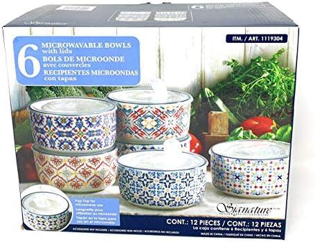 Signature Microwaveable Bowls lids Count product image