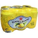 San Pellegrino Sparkling Fruit Beverages, Limonite (Lemon), 6 ct