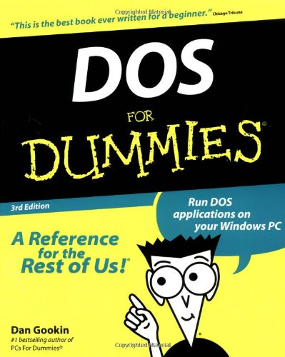 DOS For Dummies by For Dummies